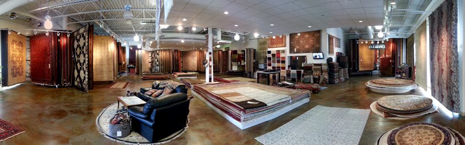 Azia Rugs Columbus Ohio Showroom Pic