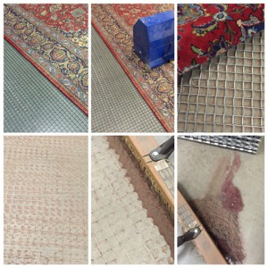 Professional Rug Dusting by Azia Rug Gallery